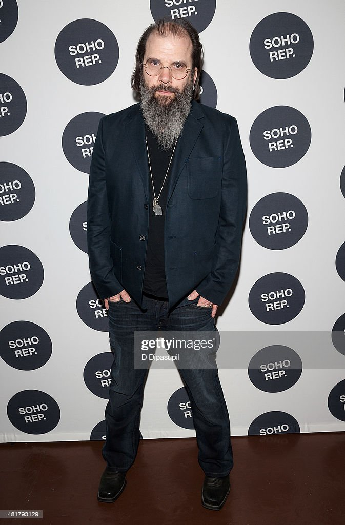 <a gi-track='captionPersonalityLinkClicked' href=/galleries/search?phrase=Steve+Earle&family=editorial&specificpeople=214591 ng-click='$event.stopPropagation()'>Steve Earle</a> attends Soho Rep's 2014 Spring Fete at The Angel Orensanz Foundation on March 31, 2014 in New York City.