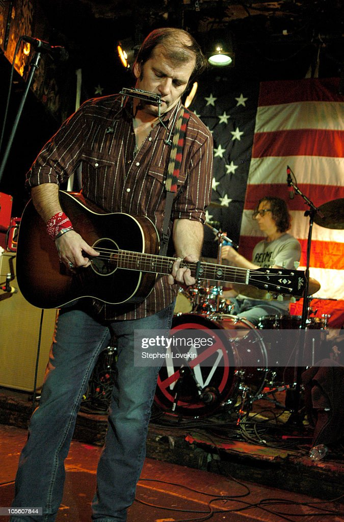 Steve Earle during Steve Earle Performs at CBGB's on Election Night - November 2, 2004 at CBGB's in New York City, New York, United States.