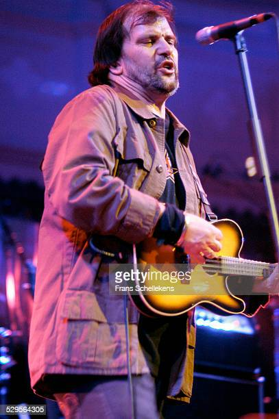 Steve Earle guitar and vocals performs at the Paradiso on April 12th 2003 in Amsterdam Netherlands