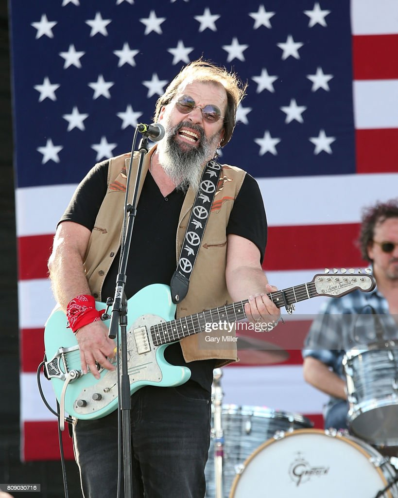 Steve Earle performs in concert during the annual Willie Nelson 4th of July Picnic at the Austin360 Amphitheater on July 4, 2017 in Austin, Texas.