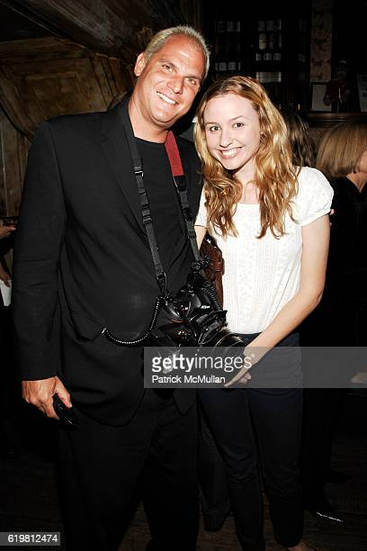 Steve Eichner and Amanda Fitzsimons attend MIKE MYERS hosts ONLY MAKE BELIEVE Benefit at The Box on October 27 2008 in New York City