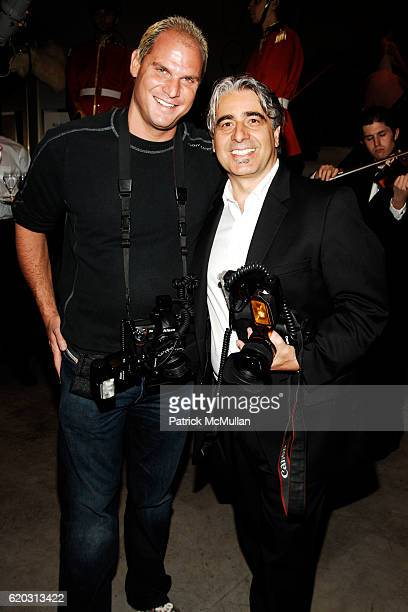 Steve Eichner and Donato Sardella attend JUICY COUTURE Flagship Store Opening at Juicy Couture 5th Avenue Flagship Store on November 6 2008 in New...