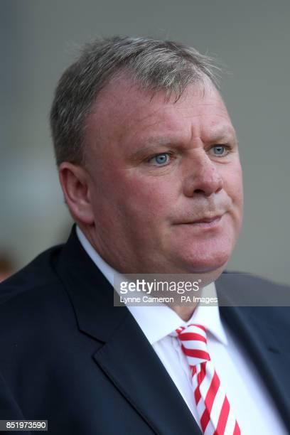 Steve Evans Rotherham United manager