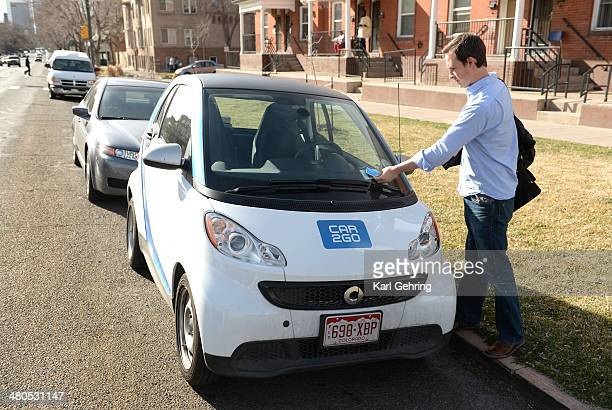 Steve Fenberg completes his commute between Boulder and Denver using the carsharing service Car2Go He used the twoseat shortterm rental to get back...