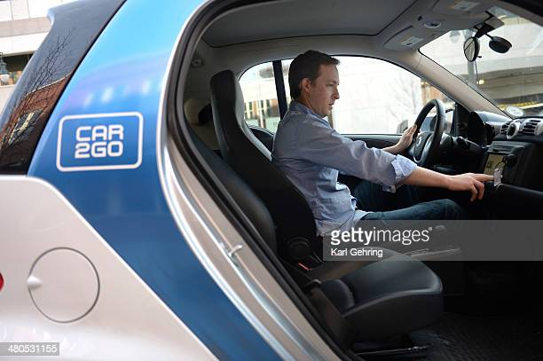 Steve Fenberg completes his commute between Boulder and Denver using the carsharing service Car2Go He used the twoseat automobile to get back to the...