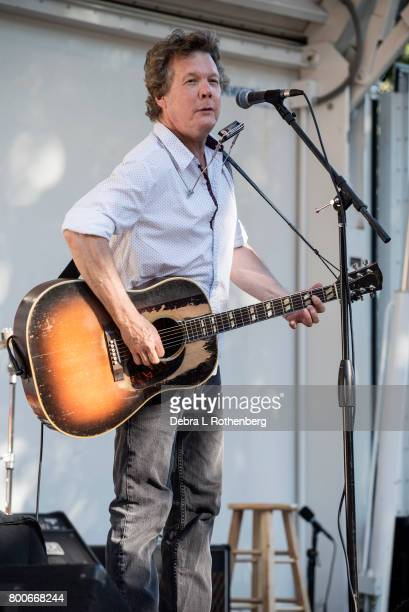 Steve Forbert performs at the RocklandBergen Music Festival at German Masonic Park on June 24 2017 in Tappan New York