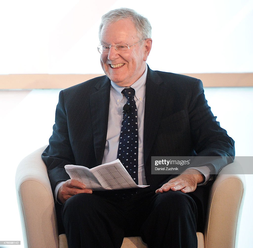 Steve Forbes attends the 2015 Forbes Women's Summit: Transforming the Rules of Engagement at Pier 60 on June 10, 2015 in New York City.