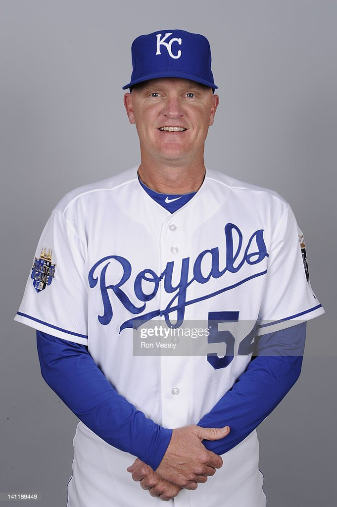 Steve Foster #54 of the Kansas City Royals poses during Photo Day on Wednesday, February 29, 2012 at Surprise Stadium in Surprise, Arizona.
