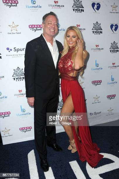 Steve Fowler and Kindley Myers arrives for the 10th Annual Babes In Toyland Charity Toy Drive held at Avalon on December 6 2017 in Hollywood...