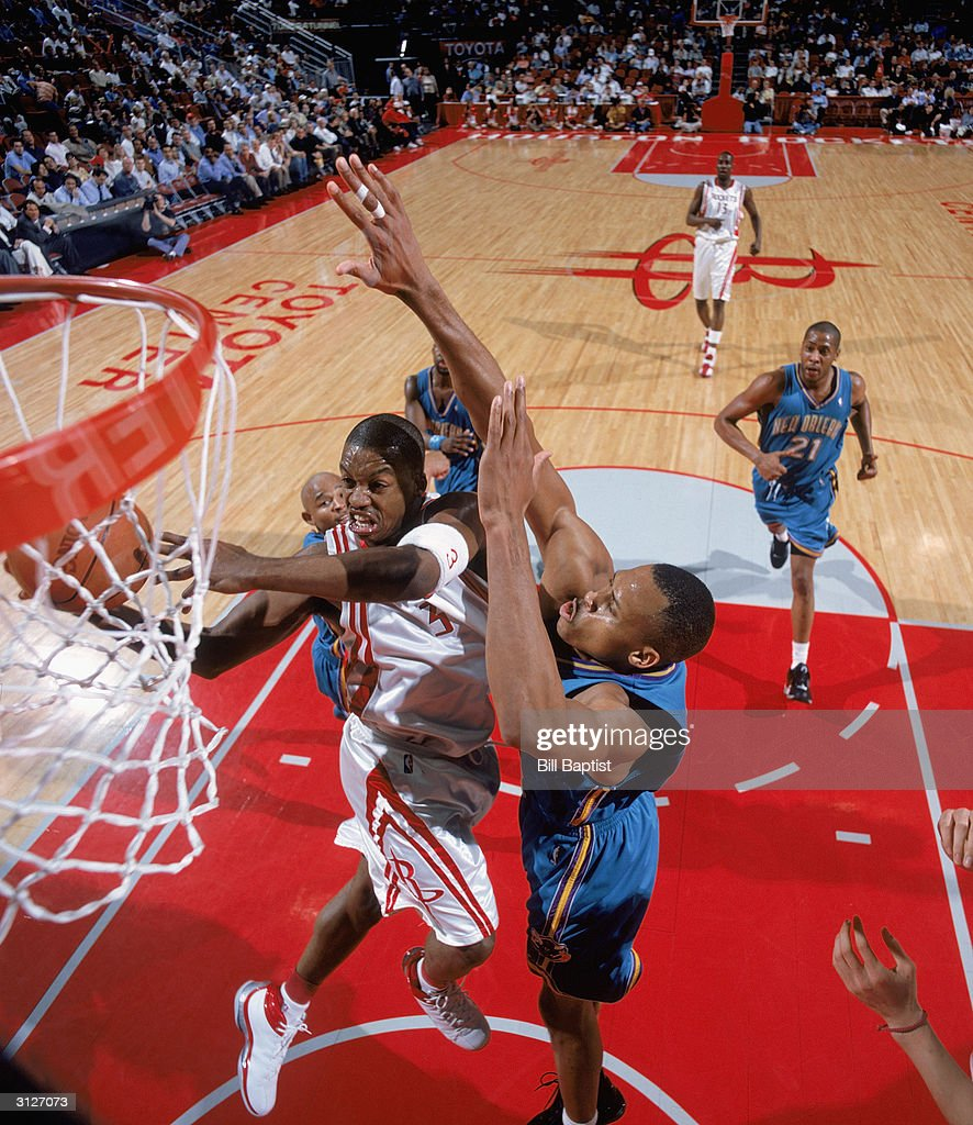 New Orleans Hornets v Houston Rockets s and