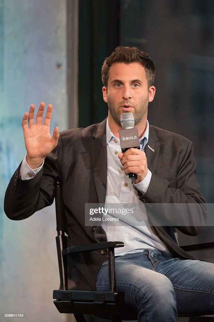 Steve Goldbloom discusses 'On The Brink Of Greatness' at AOL Studios In New York on February 11, 2016 in New York City.