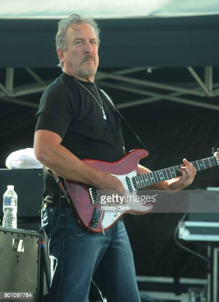 Steve Grisham of The Outlaws performs at the 8th Annual Rock Ribs Ridges Festival at Sussex County Fairgrounds on June 25 2017 in Augusta New Jersey