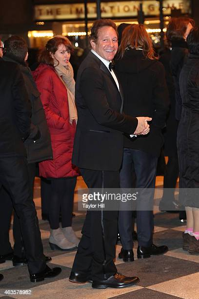 Steve Guttenberg attends the Saturday Night Live 40th Anniversary Celebration After Party at The Plaza Hotel on February 15 2015 in New York City