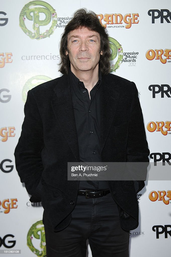 <a gi-track='captionPersonalityLinkClicked' href=/galleries/search?phrase=Steve+Hackett&family=editorial&specificpeople=1615592 ng-click='$event.stopPropagation()'>Steve Hackett</a> attends the Progressive Music Awards at Kew Gardens on September 5, 2012 in London, England.