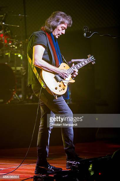 Steve Hackett English guitarist musician songwriter and singer performs live on stage at Universitaet der Kuenste on September 13 2015 in Berlin...