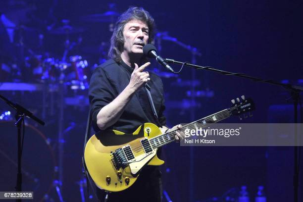 Steve Hackett performs at City Hall on May 3 2017 in Sheffield England