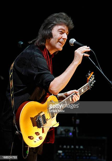 Steve Hackett performs at Hammersmith Apollo on May 10 2013 in London England