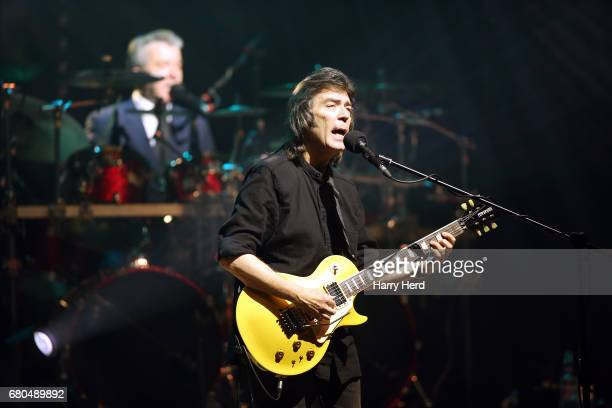 Steve Hackett performs at Portsmouth Guildhall on May 8 2017 in Portsmouth England