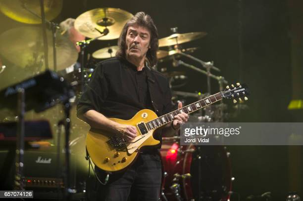 Steve Hackett performs on stage during Suite Festival at Gran Teatre del Liceu on March 23 2017 in Barcelona Spain