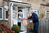 GBR: Volunteer Group Delivers Food To The Over Seventies During The Coronavirus Pandemic
