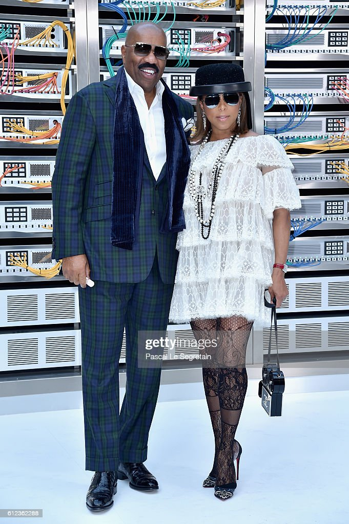 steve-harvey-and-marjorie-bridgeswoods-attend-the-chanel-show-as-part-picture-id612362288