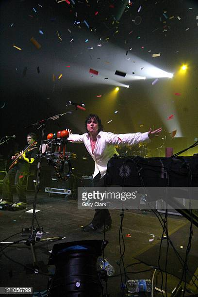 Steve Hogarth and Pete Trewavas of Marillion during Marillion in Concert at The Forum in London December 5 2005 at The Forum in London Great Britain