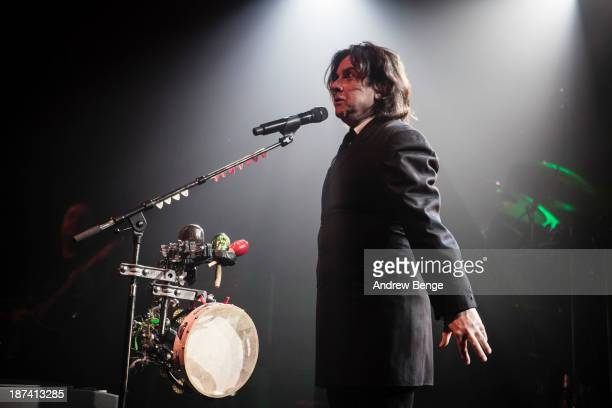 Steve Hogarth of Marillion performs on stage at Manchester Academy on November 8 2013 in Manchester United Kingdom