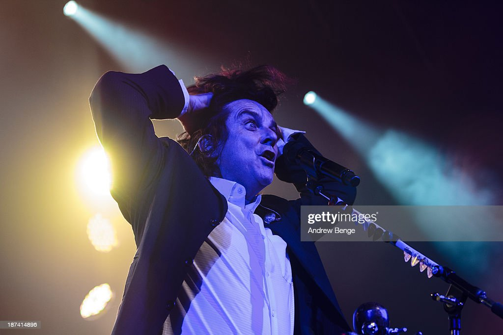 Steve Hogarth of Marillion performs on stage at Manchester Academy on November 8, 2013 in Manchester, United Kingdom.