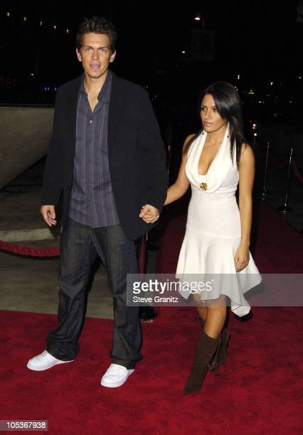 Steve Howey and Sarah Shahi during Genius A Night For Ray Charles Arrivals at Staples Center in Los Angeles California United States