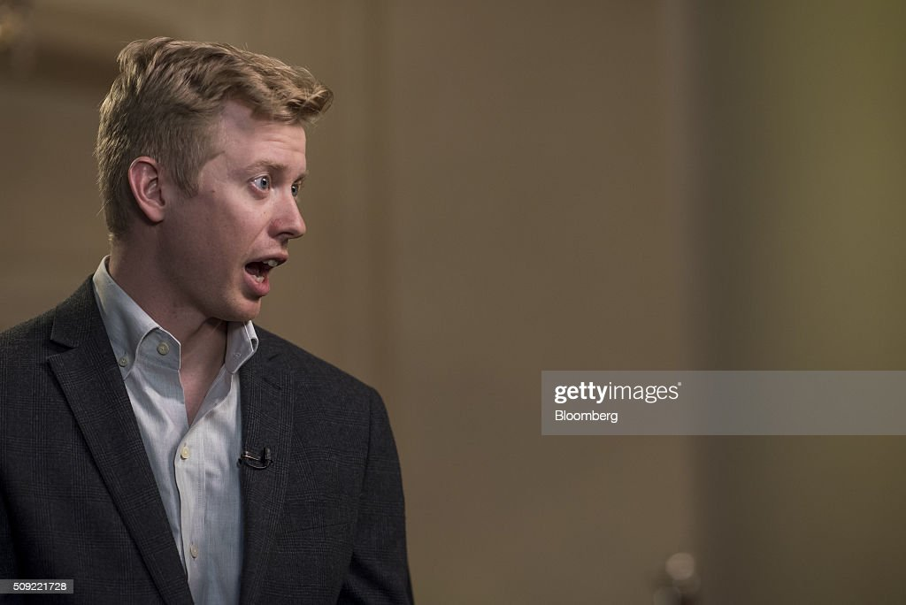 Steve Huffman, co-founder and chief executive officer of Reddit Inc., speaks during a Bloomberg Television interview at the Goldman Sachs Technology and Internet Conference in San Francisco, California, U.S., on Tuesday, Feb. 9, 2016. Huffman discussed the company's business strategy. Photographer: David Paul Morris/Bloomberg via Getty Images