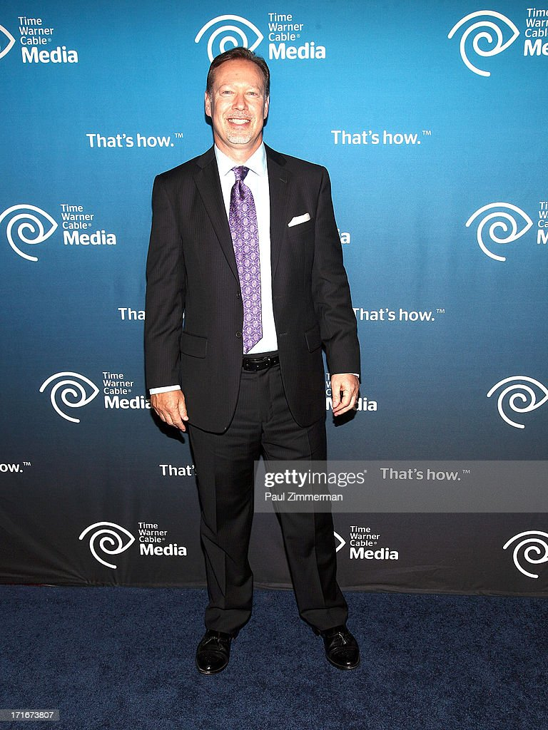 Steve Jacobs attends Time Warner Cable Media's 'View From The Top' Upfront at Jazz at Lincoln Center on June 27, 2013 in New York City.