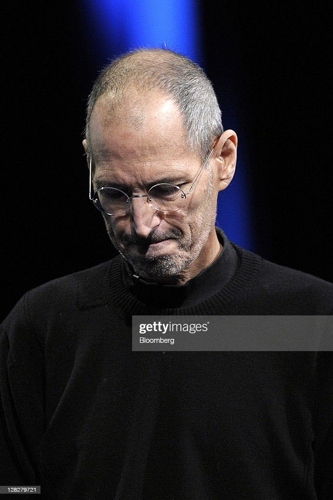 <a gi-track='captionPersonalityLinkClicked' href=/galleries/search?phrase=Steve+Jobs&family=editorial&specificpeople=204493 ng-click='$event.stopPropagation()'>Steve Jobs</a>, chief executive officer and co-founder of Apple Inc., unveils the iCloud storage system at the Apple Worldwide Developers Conference 2011 in San Francisco, California, U.S., on Monday, June 6, 2011. Jobs, who built the world's most valuable technology company by creating devices that changed how people use electronics and revolutionized the computer, music and mobile-phone industries, died Wednesday, Oct. 5, 2011. He was 56. Photographer: David Paul Morris/Bloomberg via Getty Images