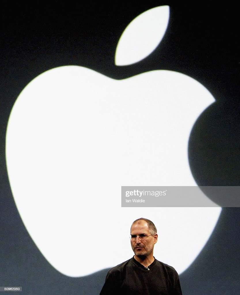<a gi-track='captionPersonalityLinkClicked' href=/galleries/search?phrase=Steve+Jobs&family=editorial&specificpeople=204493 ng-click='$event.stopPropagation()'>Steve Jobs</a>, Chief Executive Officer of Apple computers, launches iTunes Music Store in the territories of Great Britain, Germany and France, on June 15, 2004 in London. The iTunes store allows users to buy and download albums or individual songs from a library of 700,000 songs.