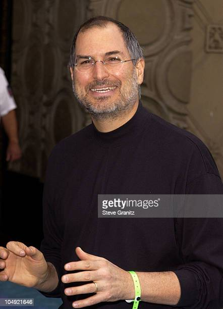 Steve Jobs during Monsters Inc Premiere at El Capitan Theatre in Hollywood California United States