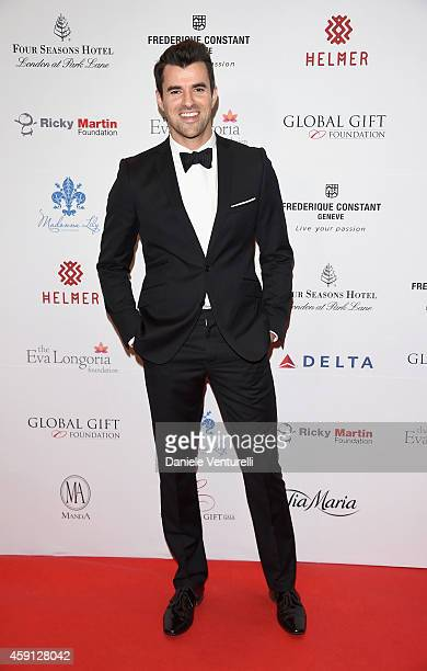 Steve Jones attends the 5th Global Gift Gala hosted by honorary chair Eva Longoria at the Four Seasons Hotel on November 17 2014 in London England
