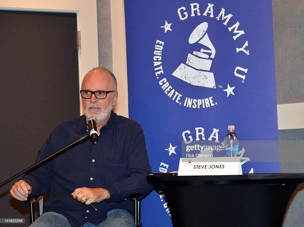 Steve Jones CEO Brash Music attend GRAMMY GPS - A Road Map For Today's Music Pro at W Atlanta Buckhead on September 8, 2012 in Atlanta, Georgia.