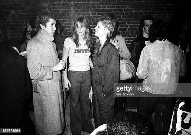 Steve Jones of the Sex Pistols at an aftershow party for a gig by The Runaways at the Roundhouse Camden London 01 October 1976