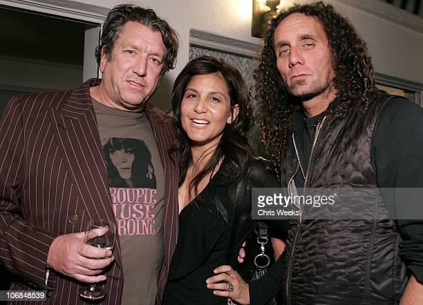 Steve Jones of The Sex Pistols Laurie Stark and Richard Stark of Chrome Hearts