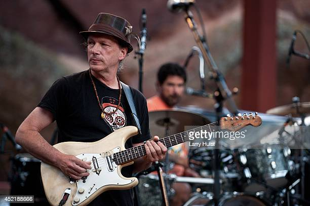 Steve Kimock performing with 'Ratdog' at Red Rocks Amplitheater in Morrison Colorado on July 11 2014