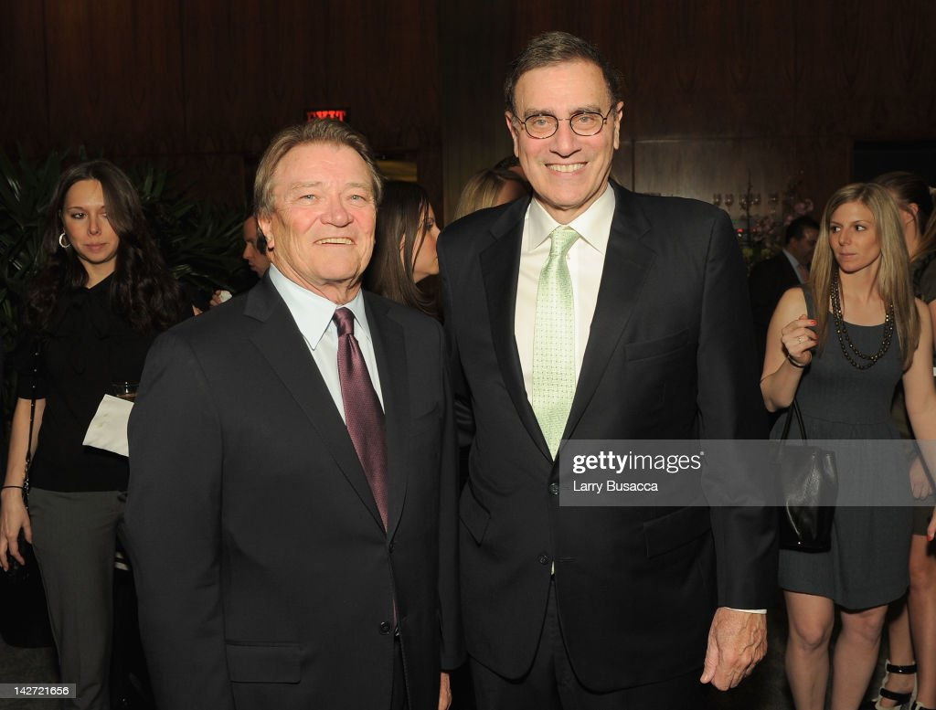 <a gi-track='captionPersonalityLinkClicked' href=/galleries/search?phrase=Steve+Kroft&family=editorial&specificpeople=745899 ng-click='$event.stopPropagation()'>Steve Kroft</a> (L) and Jimmy Finkelstein attend the Hollywood Reporter celebration of 'The 35 Most Powerful People in Media' at the Four Season Grill Room on April 11, 2012 in New York City.