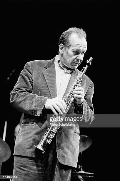 Steve Lacy soprano saxophone performs on February 26th 1994 at the BIM huis in Amsterdam the Netherlands