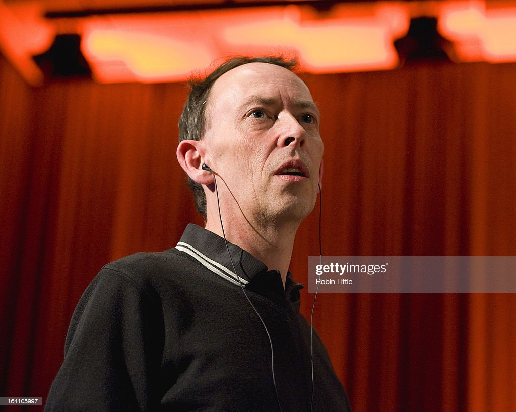 Steve Lamacq presents the press launch for Latitude Festival 2013 at BBC Maida Vale Studios on March 19, 2013 in London, England.