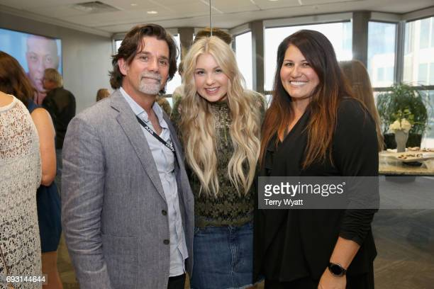 Steve Lassiter Brennley Brown and Keri FoxMetoyer attend APA Nashville's open house at One Nashville Place on June 6 2017 in Nashville Tennessee