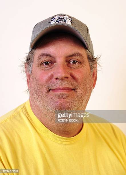 Steve Legino poses for a photo in Glendale California on October 20 2011 Steve grew up in Van Nuys California and lives with his wife and two...