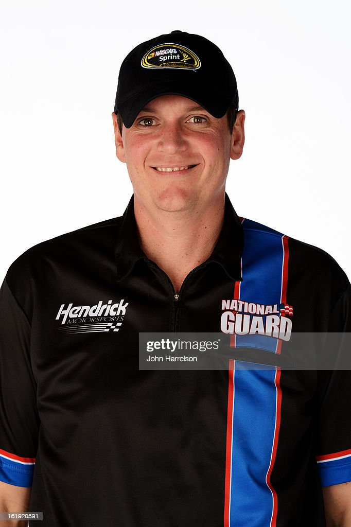 Steve Letarte, crew chief of the #88 National Guard Chevrolet, poses during portraits for the 2013 NASCAR Sprint Cup Series at Daytona International Speedway on February 17, 2013 in Daytona Beach, Florida.