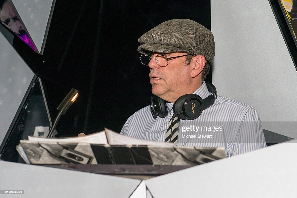 DJ Steve Lewis attends the BlackBook Fashion Week celebration at Toy on February 12, 2013 in New York City.