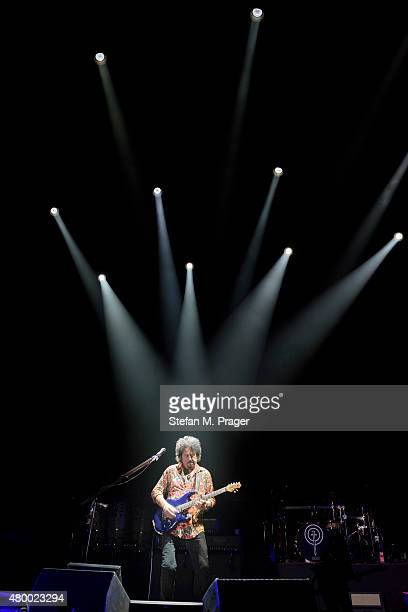 Steve Lukather of Toto performs at Olympiahalle on July 8 2015 in Munich Germany