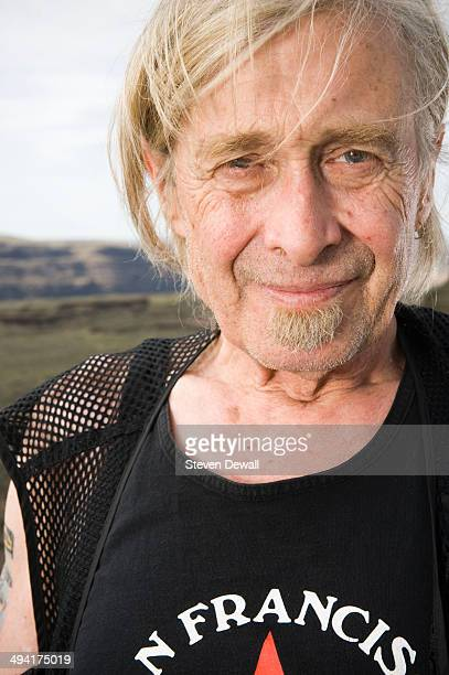 Steve MacKay of the Violent Femmes poses for a portrait backstage on day 2 of Sasquatch Music Festival at the Gorge Amphitheater on May 24 2014 in...