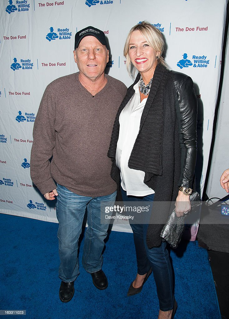 <a gi-track='captionPersonalityLinkClicked' href=/galleries/search?phrase=Steve+Madden+-+Shoe+Designer&family=editorial&specificpeople=15013601 ng-click='$event.stopPropagation()'>Steve Madden</a> and Wendy Madden attends the The Doe Fund's Second Annual Sweet: New York at the Classic Car Club on March 7, 2013 in New York City.
