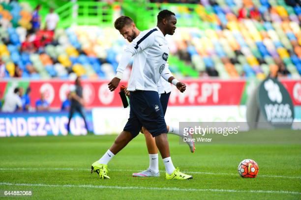 Steve MANDANDA / Benoit COSTIL Portugal / France Match Amical Photo Dave Winter / Icon Sport